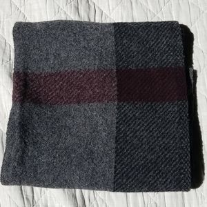 Burberry exploded check wool scarf